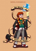 Ron Weasley by Blueberry-me