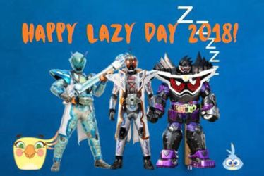 Happy Lazy Day 2018! by RaphaelFernandez2001