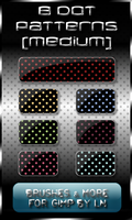 8 Dot Patterns-medium-for GIMP by el-L-eN
