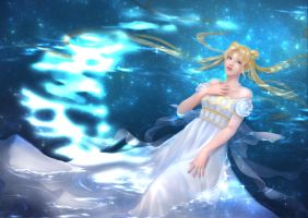 Princess Serenity by wasenski