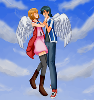 Amourshipping- Angels/Completed Version by pokeanistars