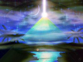 Mystical Pyramid by xni