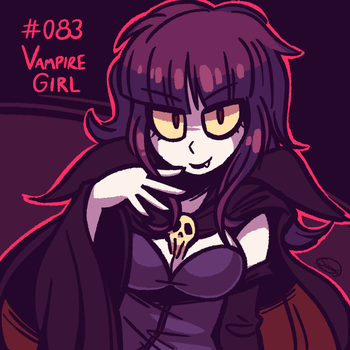 FF2 - Vampire Girl by Suragi-0