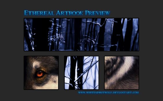 .:Ethereal Artbook Preview:. by WhiteSpiritWolf