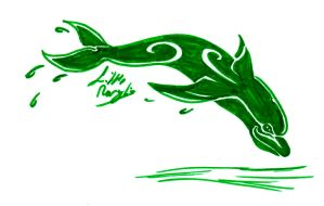 Challenge Day 06 - Dolphin by ALittleLady