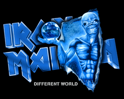 Iron Maiden - Different World by croatian-crusader