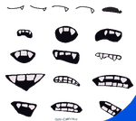 Free For Use South Park Fanged Mouth Template By Gobi Akutoku