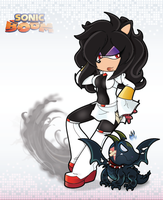 Darkness: Sonic Boom Style by Kentami