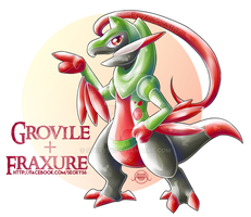Grovile X Fraxure