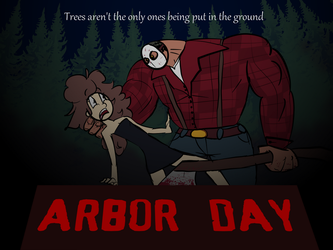 Arbor Day poster by Serial-man