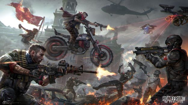 Freedom fighter VS  Superior Korean military by JeremyChong