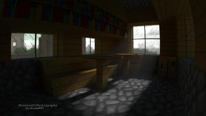 Village Room | Minecraft Render and Wallpaper by MinecraftPhotography