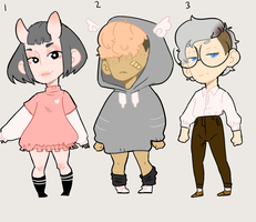 Cheap Set price Adopts 4 CLOSED by melonmii