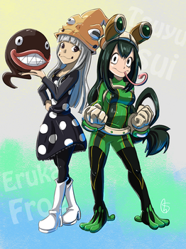 Frog girls by S-concept