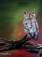 Great Horned Owl by kdrmickey