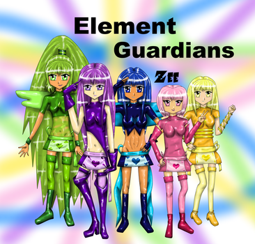 Element Guardians s by Zee-qow