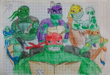 Rise of the Teenage Mutant Ninja Turtles by SpiderDetentionaire
