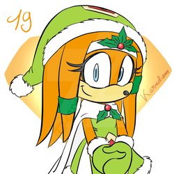 Advent calendar : 19th December by Karneolienne