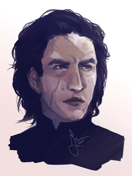Kylo Ren by Dr-Parasite