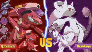 Genesect Vs Mewtwo