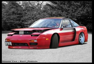 Nissan USDM 240SX Widebody by MoncefFaik