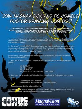 DC75 Poster Contest by manilacomic-con