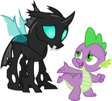 Thorax and Spike by Uponia