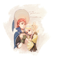 Ricken+Lissa by EWBunny
