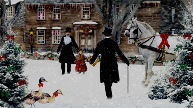 A Victorian Christmas... by krissybdesigns