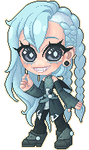 Pixel pagedoll commission 010 - liirah by Lady-Bullfinch