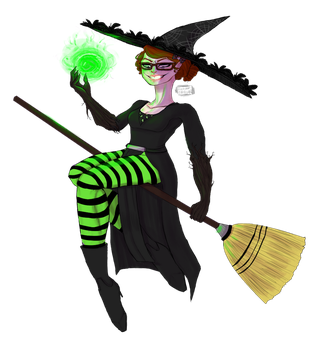 Witch Persona by SlenderSpawn