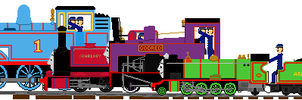 Number 1s of the Railways of Sodor by ChipmunkRaccoonOz