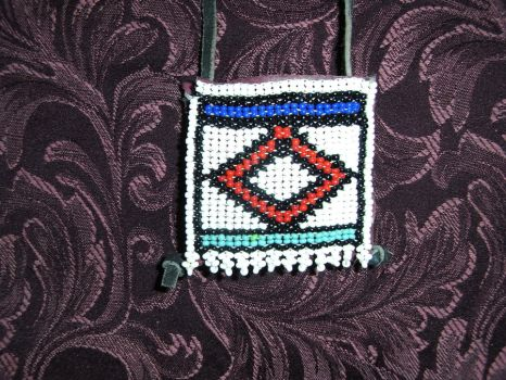 American Indian Medicine Pouch by Mishka069