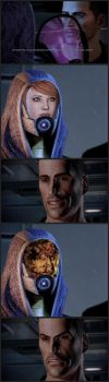 Tali's Face: Kelly Chambers by ThePrimith