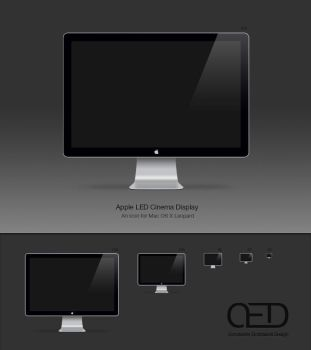 Apple LED Display Icon OSX by CE0311