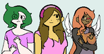 Comic main characters by emmbug124