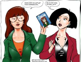 Daria yeah she's back by theEvilTwin