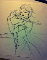 Elsa (Frozen) by ThucAn