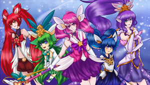 We are the Star Guardians by SkitzOpheliac