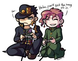 JJBA videogames by RasTear