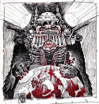 New world order - Oil Gas Blood and War by Orm-Z-Gor