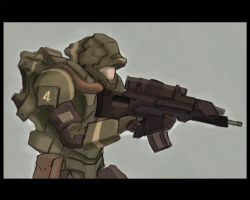 Elite soldier concept by Talros