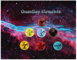 Guardian Element Pyramid by Cosmic-Phoenyx