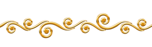 golden swirls border png by Melissa-tm