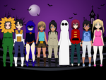 Halloween Costumes Wave 2 by MEGAF1SH