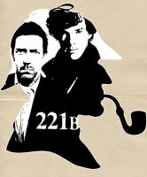 Residents of 221B by favoritedarkness