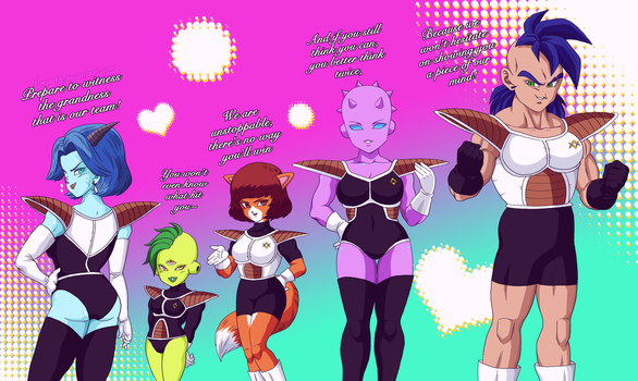 The special forces of Lady Breeze by Furipa93