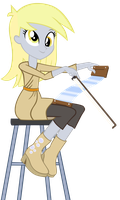 Derpy's Musical Saw by EvilAngelJS