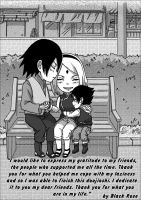 Doujinshi Because we are a family (final) by byBlackRose