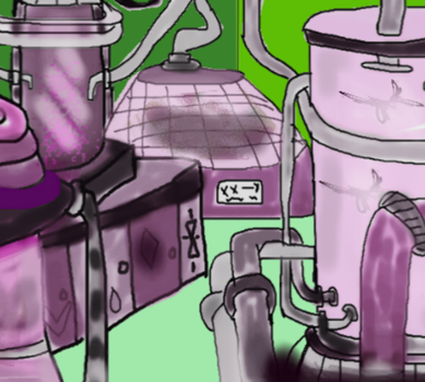 mad science laboratory by TanithLipsky